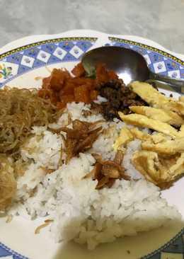Nasi uduk rice cooker anti gagal
