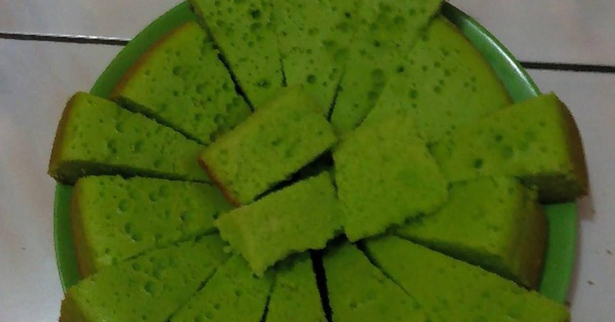Resep Bolu pandan rice cooker