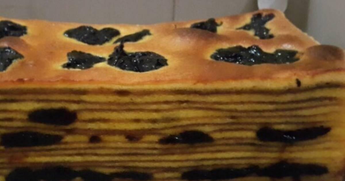Resep Lapis legit prunes