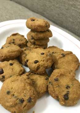 Chocohips butter cookies