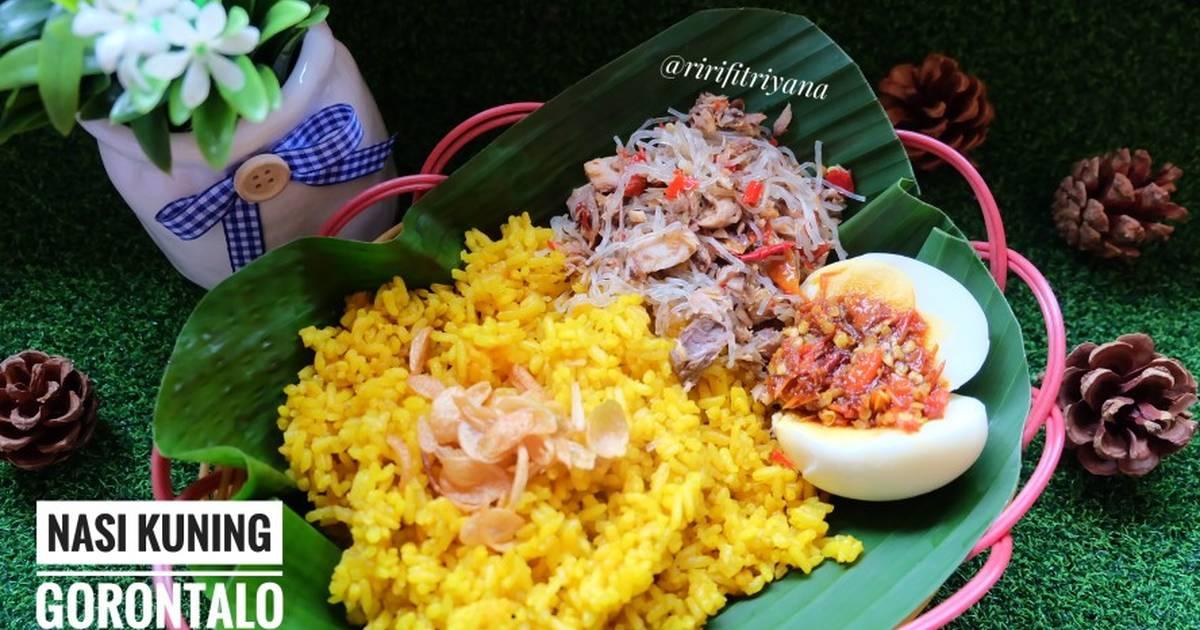 118 Resep Nasi Kuning Ricecooker Tanpa Santan Enak Dan Sederhana