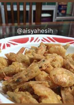 Udang goreng tepung crispy #BikinRamadanBerkesan