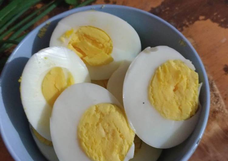 Telur Rebus Kilat