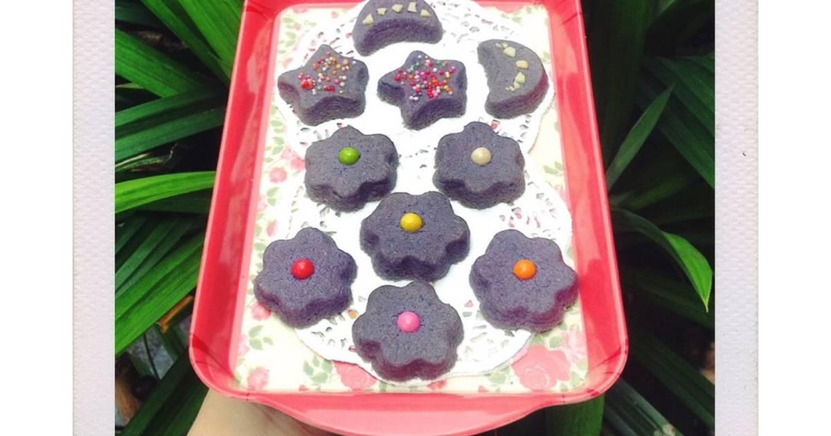 Resep Taro Cookies