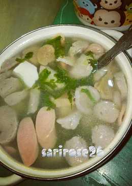 Sup BaSisTa (Bakso Sosis Tahu)