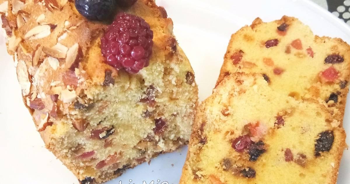 Resep Fruit Cake Jtt: Resep English Fruit Cake Oleh Liu Mimin