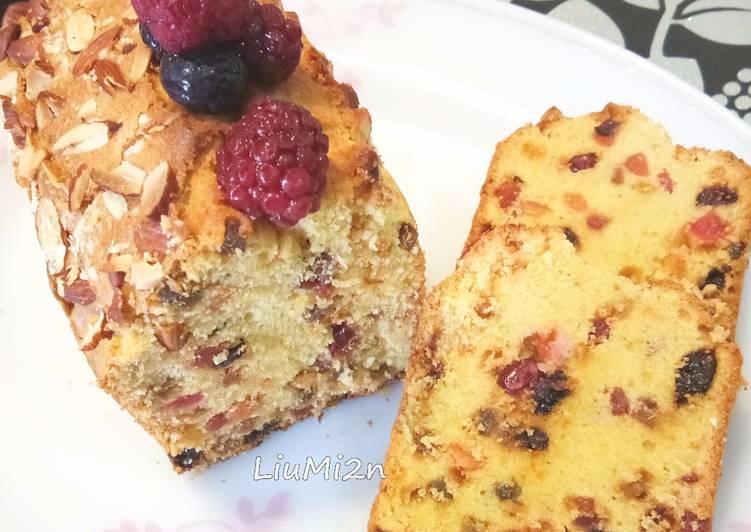 Resep English Fruit Cake