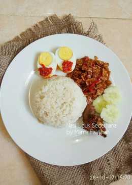 Nasi Uduk Sederhana (ricecooker)