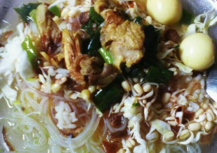 Resep Soto ayam kuah bening Dari Tata WenQian