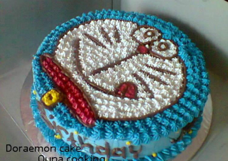 Resep Kue Tart Doraemon Oleh Quna Cezee Piisces Garazgothic Cookpad