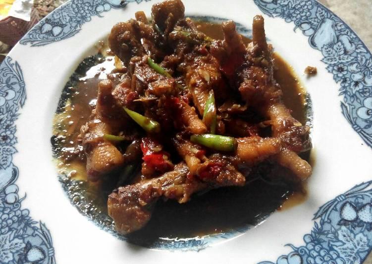 Resep Ceker ayam Kecap Pedas Kiriman dari Wiwie Ciwie s 2
