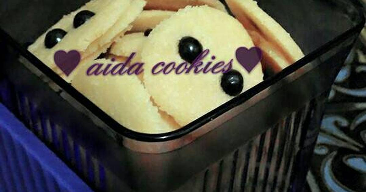 Resep milk cookies