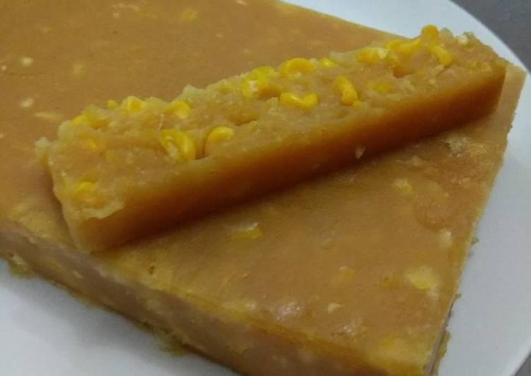 Resep Cake Kukus Gula Palem: Resep Kue Jagung Manis Kukus Gula Merah Oleh Anily