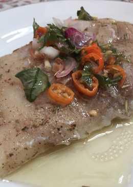 Ikan Dori Sous Vide (Sambal Matah)