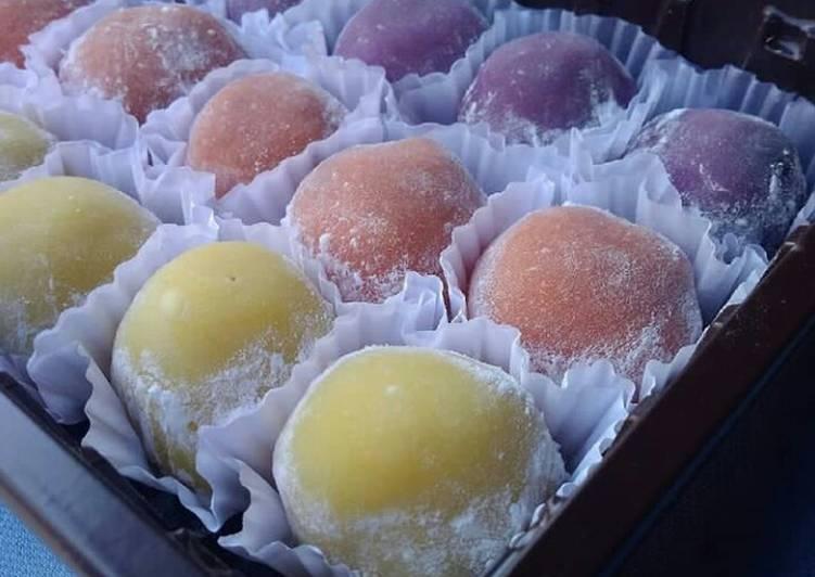 Resep Kue Mochi Isi Selai Coklat Kacang Oleh Nur Azizah