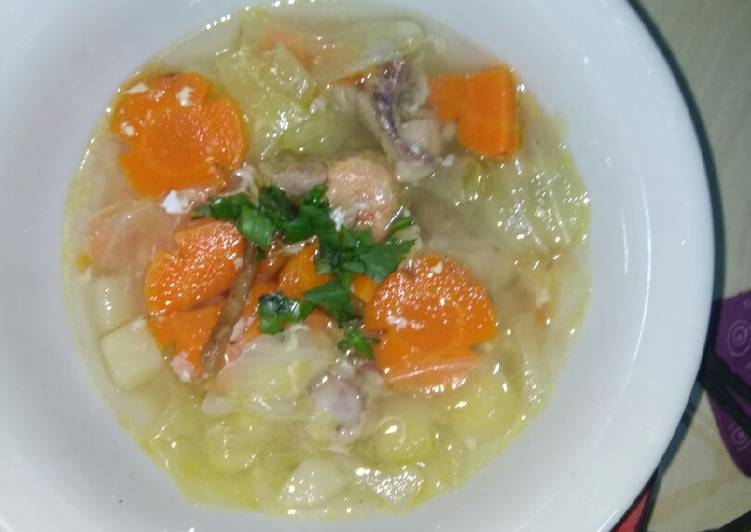 Sup rumahan simpel #BikinRamadanBerkesan