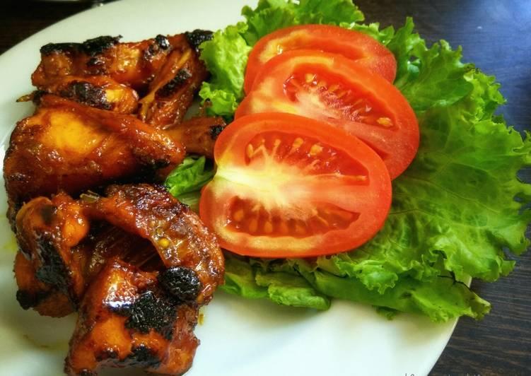 resep ayam bakar madu oven Resepi Kuih Bakar Sarang Madu Enak dan Mudah