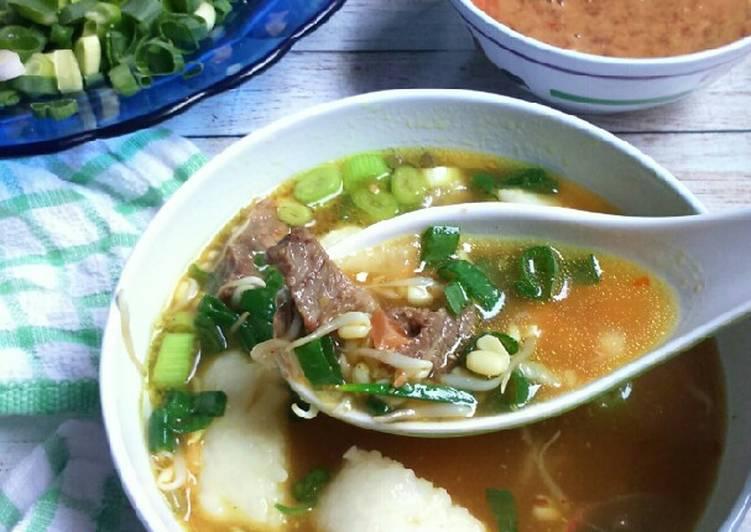 Soto sokaraja (daging sapi) #rabubaru