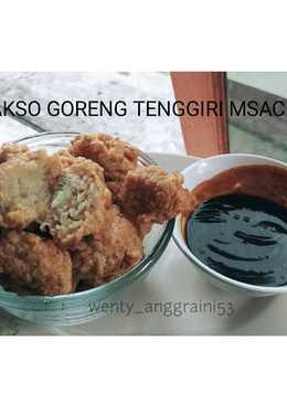 Bakso goreng tenggiri low carb(no tepung) menu diet