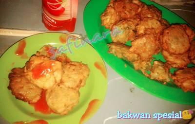 Bakwan UJANG manis (Udang Jagung manis) ala2 jawa timur #indonesiamemasak