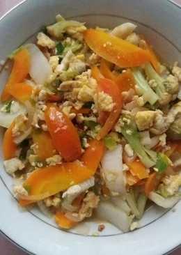 Capcay sayur sederhana