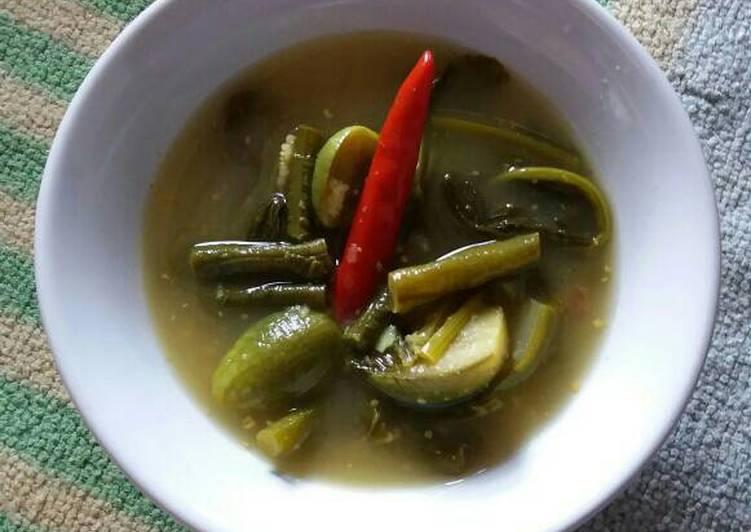 Resep Sayur Asem Kacang Panjang #Pr_kacangpanjang Kiriman dari Nurul Faridah