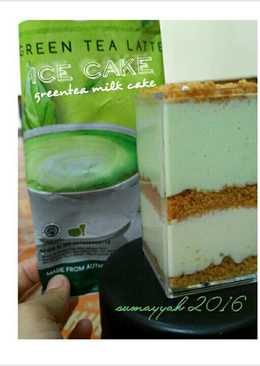 Ice Cake Greentea
