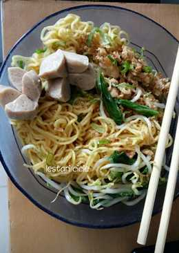Mie Ayam Baso homemade