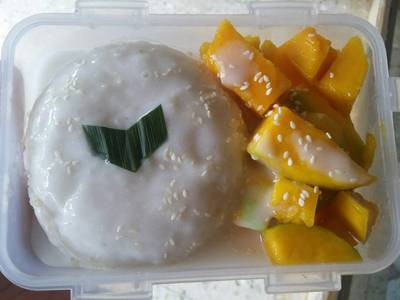 Creamy Mango Sticky Rice