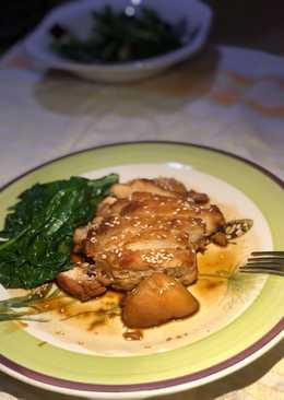 Dada Ayam Teriyaki bumbu wijen mudah daging empuk dan juicy