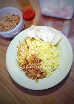 #8 Nasi kuning sangrai #SeninSemangat
