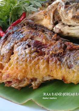 Ikan Bader Goreng bawang ala Emak 💕👧 #prRamadhan_masakbesar