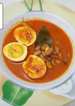 Gulai Telur Kacang Merah