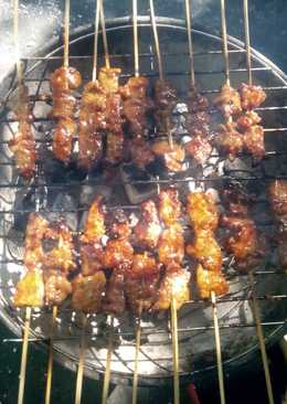 Sate sapi bumbu kebab #kitaberbagi