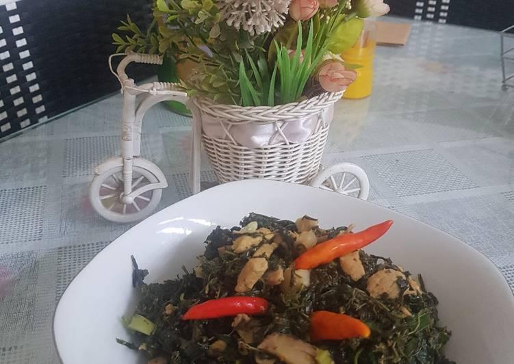 Resep Daging Babi Daun Singkong Ala Mia Mori Oleh Eko