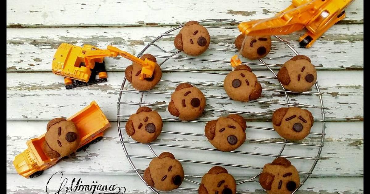 Resep Milo Bear Cookies