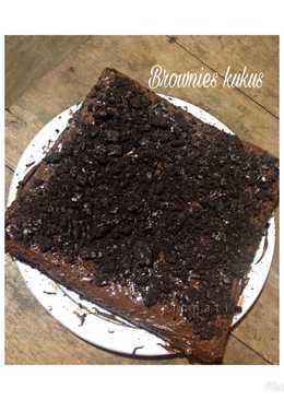 Brownies kukus no mixer
