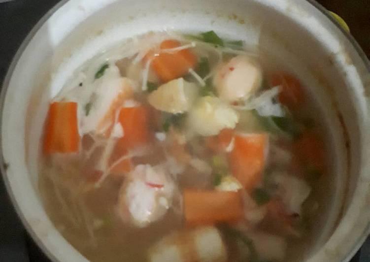 Suki kuah seafood