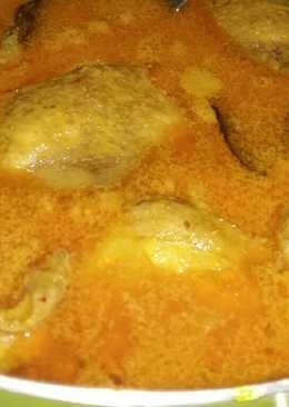 Gulai ayam simple