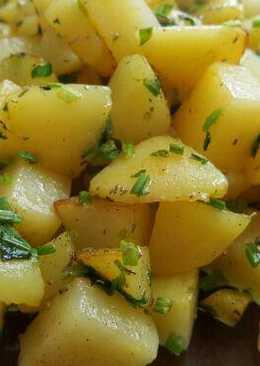 Saute Potato Wedges