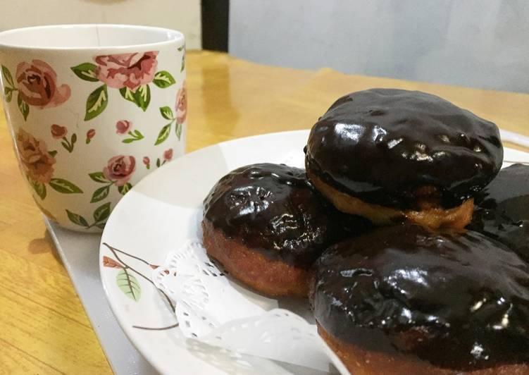 Donuts coklat #BikinRamadhanBerkesan