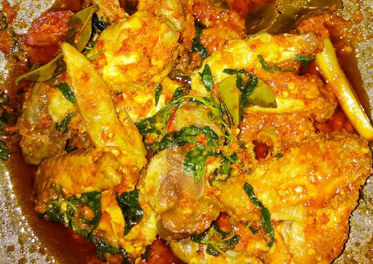 Resep Ayam Rica Rica Pedas Kemangi Karya Tia Rumah Resep