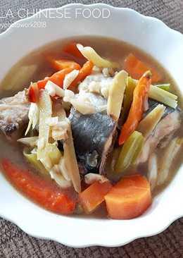 Sop Ikan Patin Ala Chinese Food