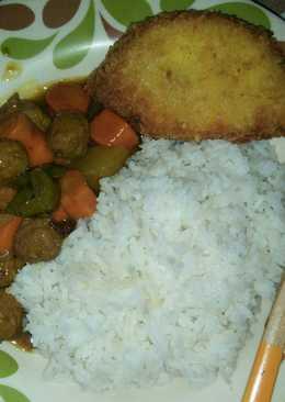 Nasi kari (nasi kari jepang)