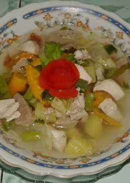 Sop Sayuran, Ayam Dan Bakso