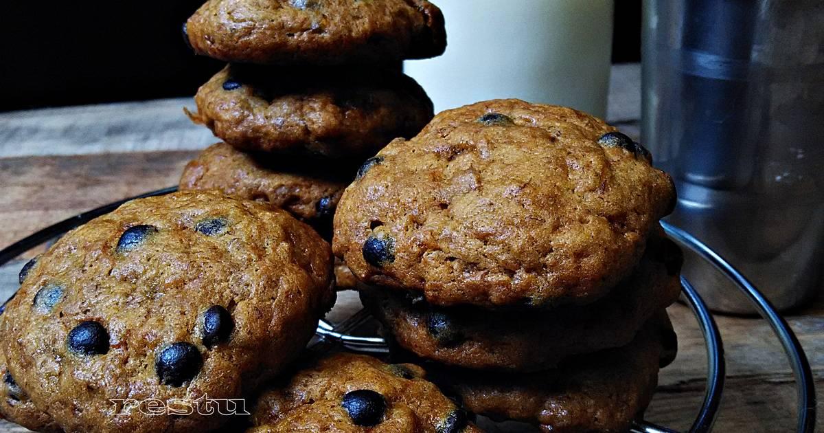Resep banana bread cookies