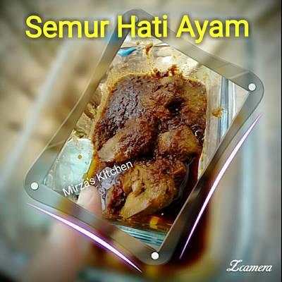Semur Hati Ayam #menusehatanak