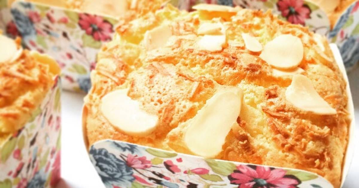 Resep Bolu Hongkong Keju Almond