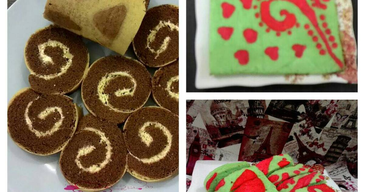 Resep Roll Cake Kukus Ekonomis: Resep Kue Lebaran: Resep Roll Cake Kukus