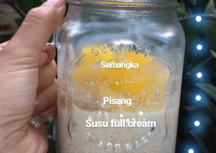 Resep Overnight oat simpel banget, wajib coba ! Karya sasaa